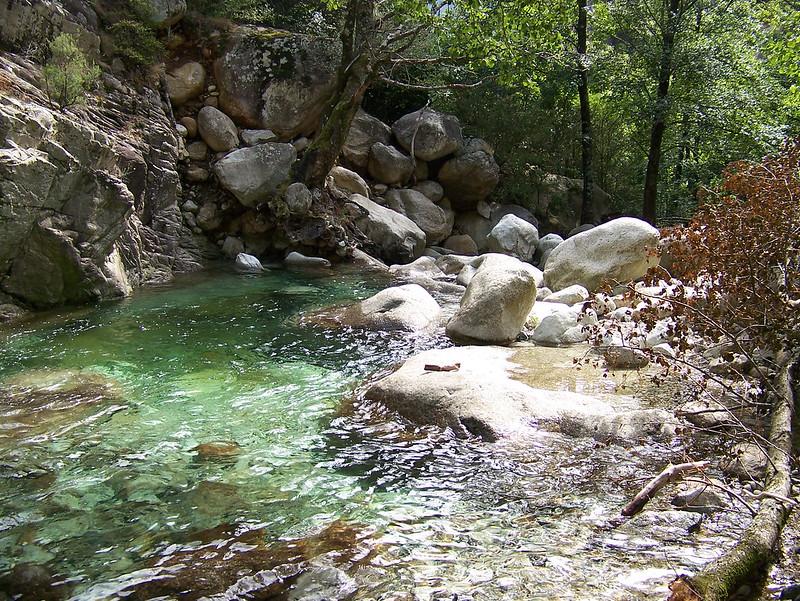 Cascades en Corse