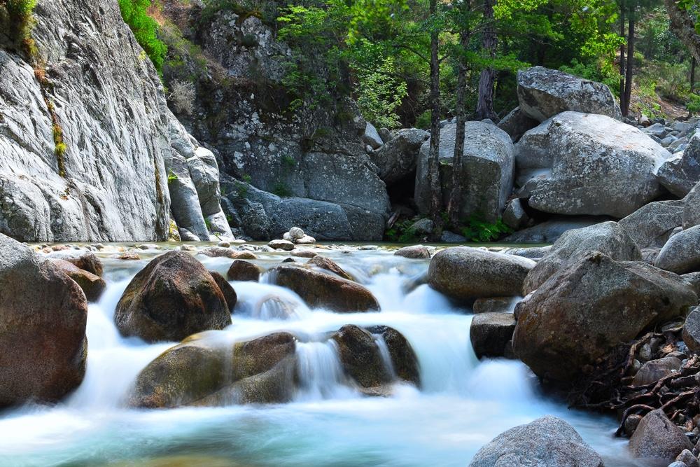 Cascades Corse : gorges de Spelunca