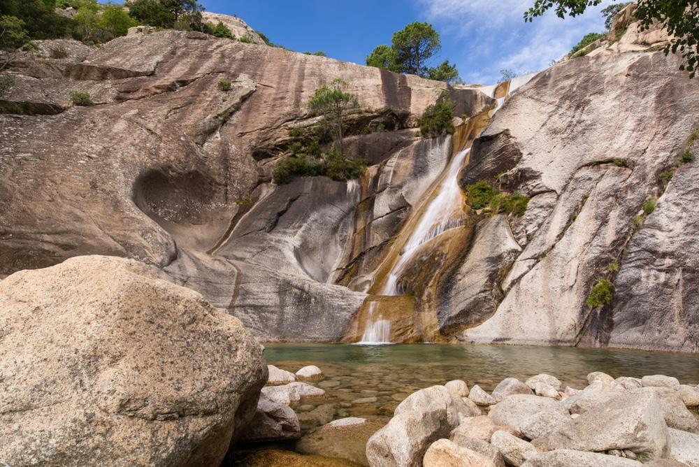 Les cascades de Purcaccia et de Polischellu