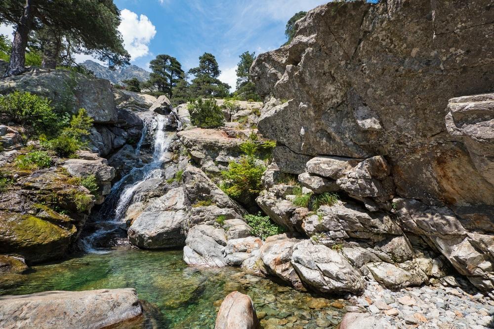 Cascades Corse : Les cascades des Anglais