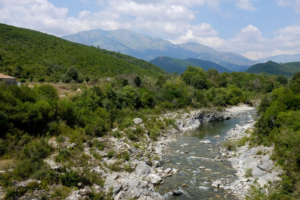 Cascades Corse : vallée du Tavignano