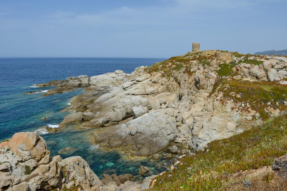 Crique Méditerranée : Punta Spano