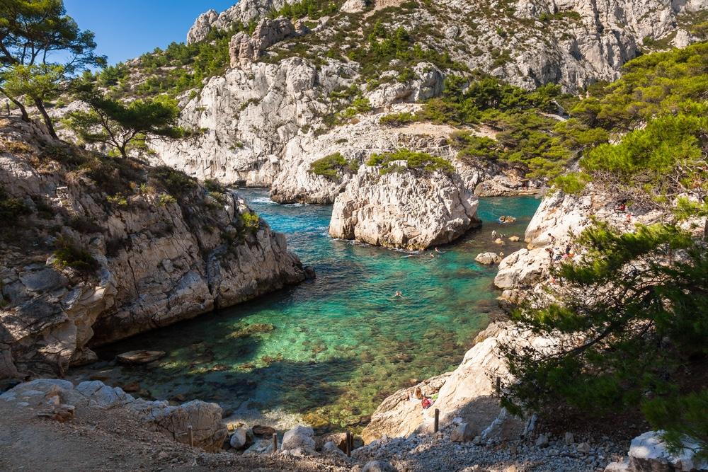 Criques Méditerranée : La calanque de Sugiton
