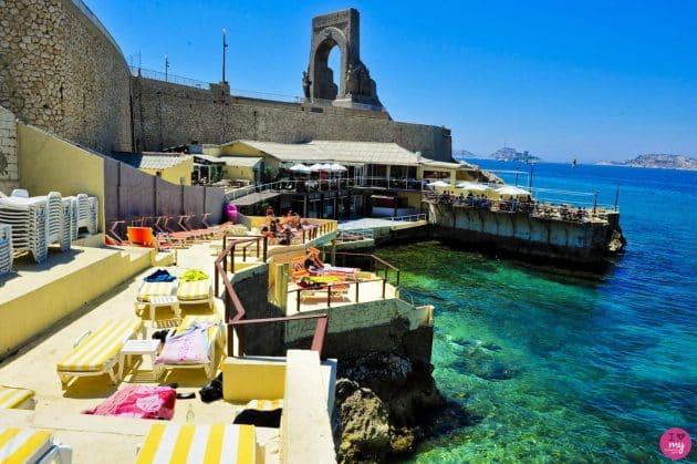 Les 4 meilleures paillotes autour de Marseille