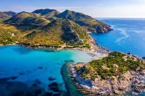 Plages Sardaigne : Punta Molentis