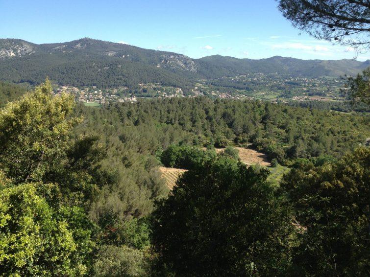 randonnée du massif de la Sainte-Baume