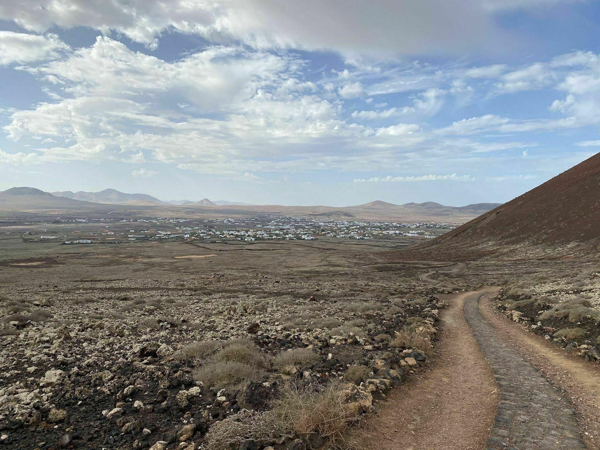 Randonnée Fuerteventura : Volcán Calderón Hondo