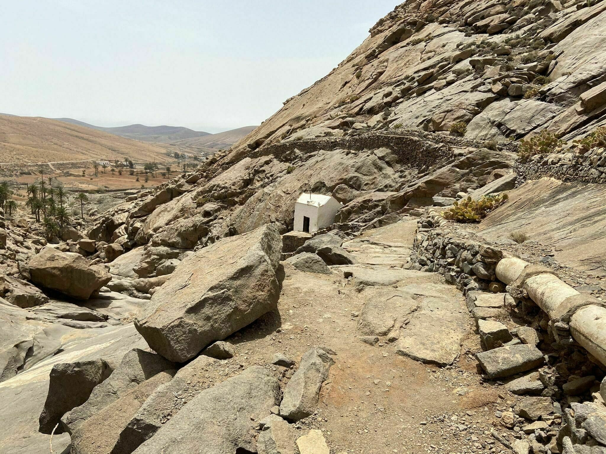 Randonnée Fuerteventura : Presa de las Peñitas - Ermita de la Peña