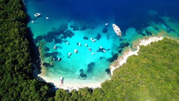 Visiter le Blue Lagoon à Corfou