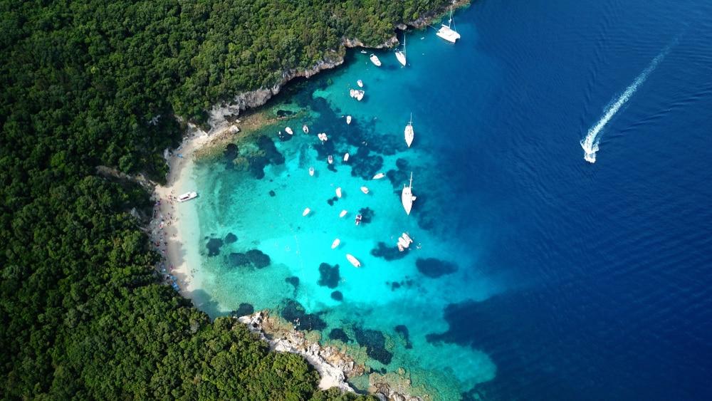 Croisière privée pendant 4 jours autour du Blue Lagoon et de Corfou
