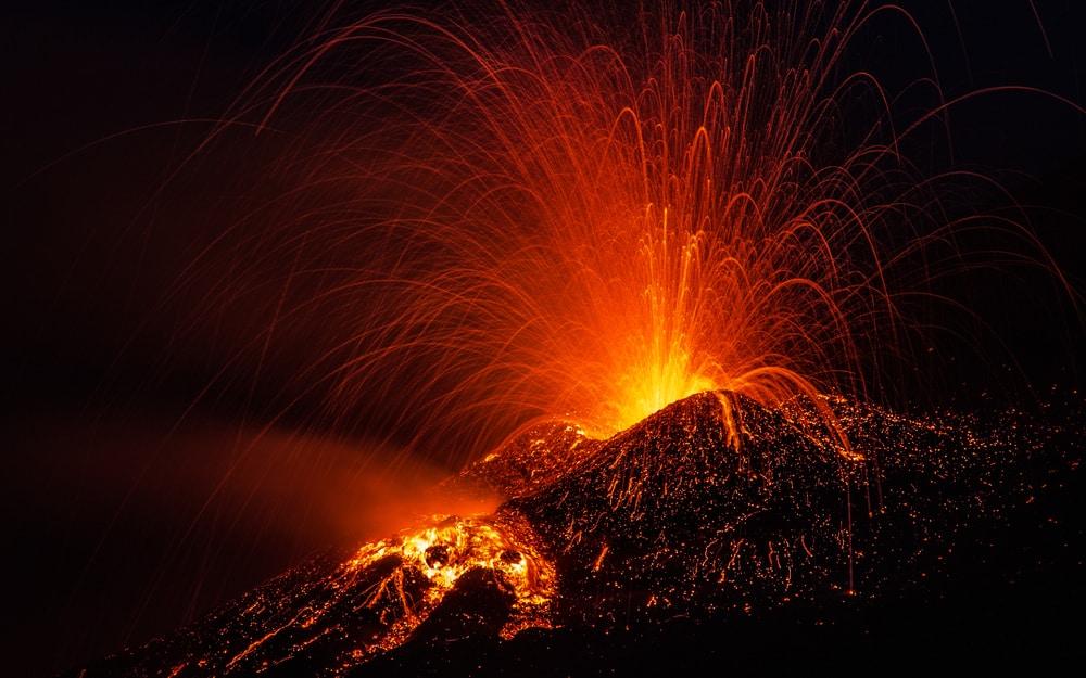 Ascension Etna volcans Sicile