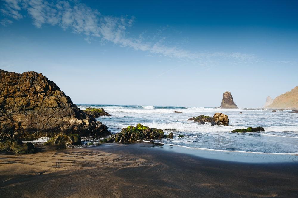 Spot plongée Tenerife : Playa de Las Arenas