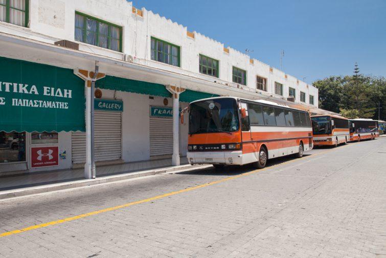 Transfert aéroport de Rhodes et le reste de l'île