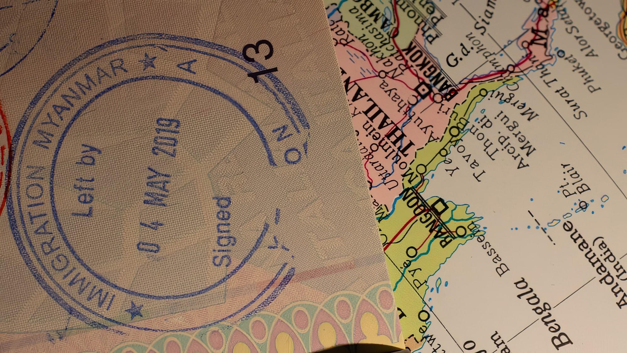 Visa pour la Birmanie (Myanmar)