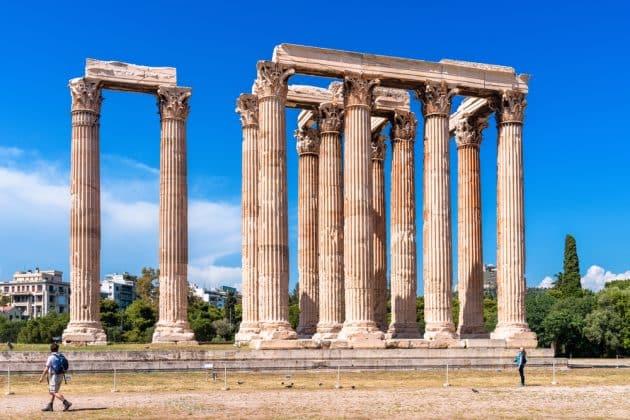 Visiter l'Olympiéion (Temple de Zeus) d'Athènes : billets, tarifs, horaires