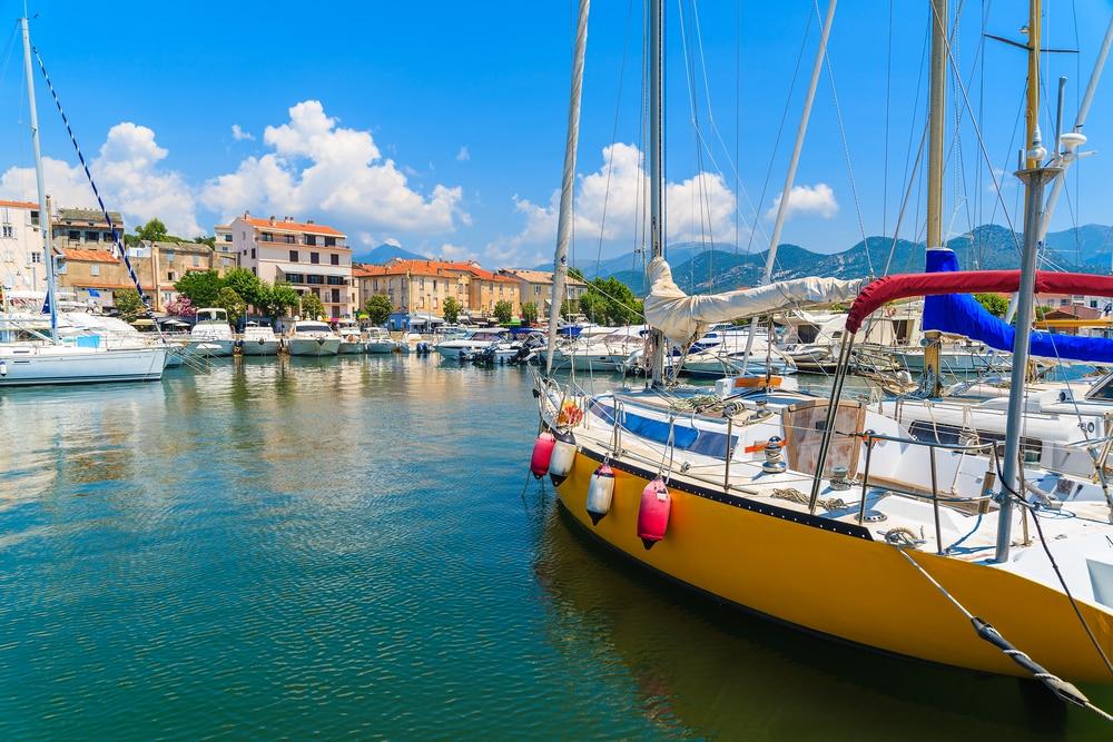 Visiter Saint-Florent : Le port