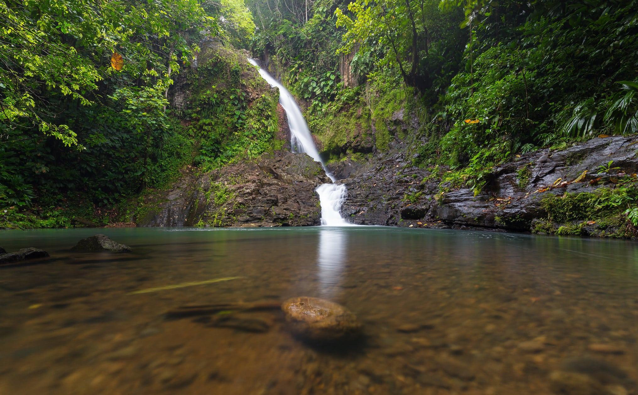 Saut du Bras du Fort - belles cascades de guadeloupe