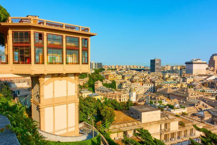 Belvedere Montaldo - visiter Gênes