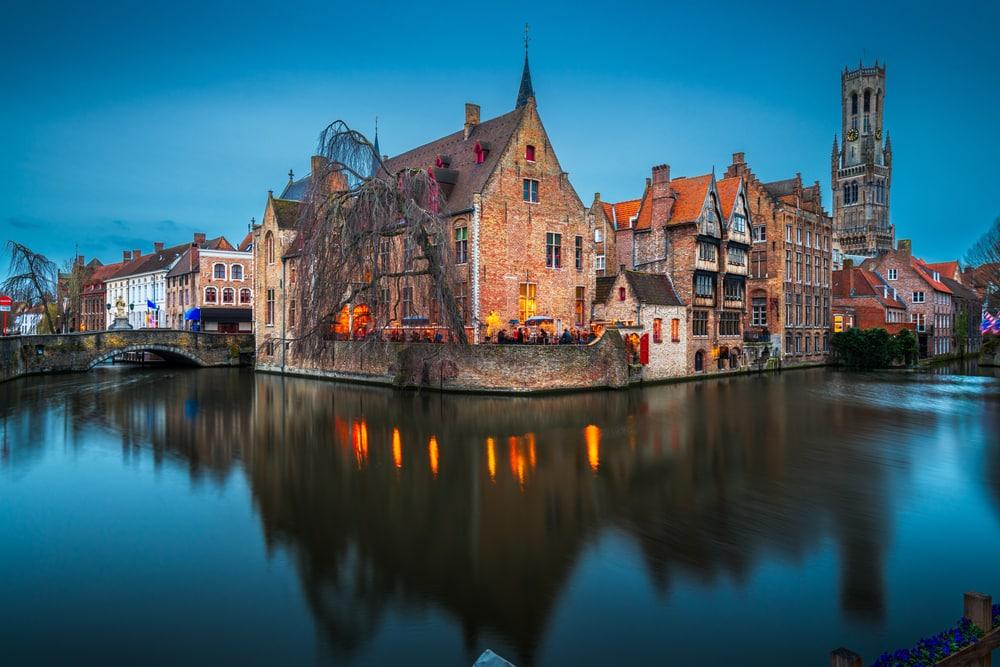 Les canaux de Bruges - visiter Belgique