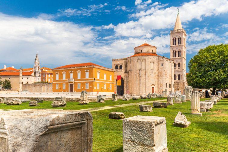 Église Saint-Donat - visiter Zadar