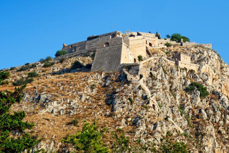 La citadelle de Palamède - visiter Nauplie