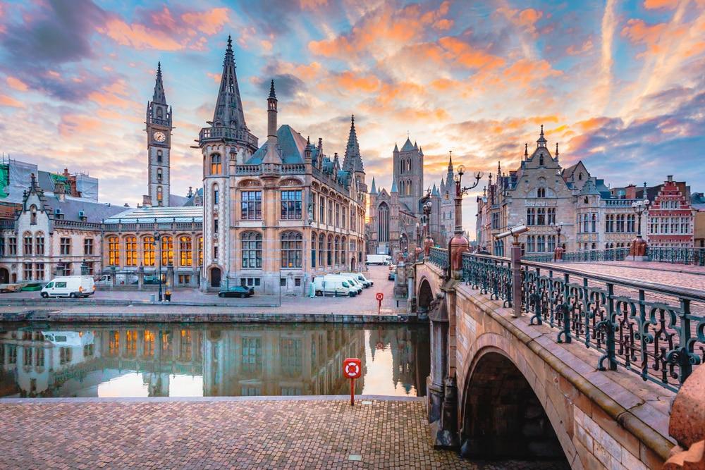 Le centre historique de Gand - visiter Belgique