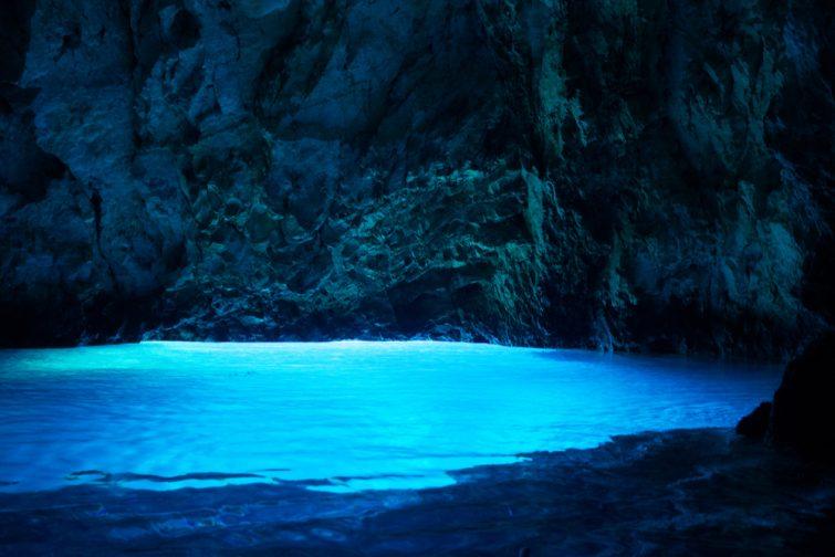 La Grotte Bleue