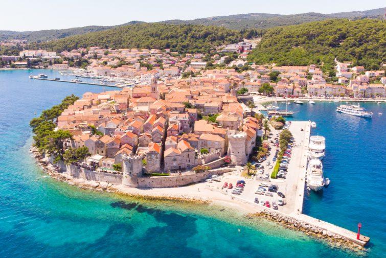 La vieille ville de Korčula - visiter Korcula