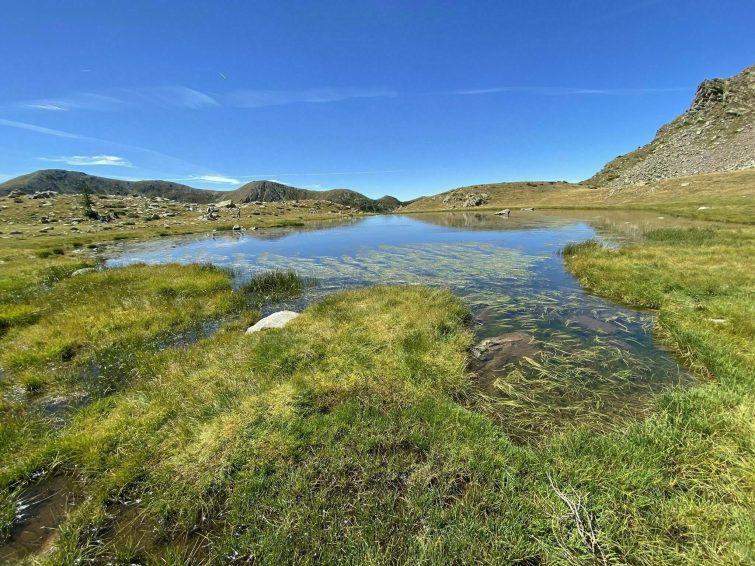 La Madone et les Lacs de Prals
