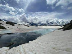 Le Lac Blanc par le Col des Montets