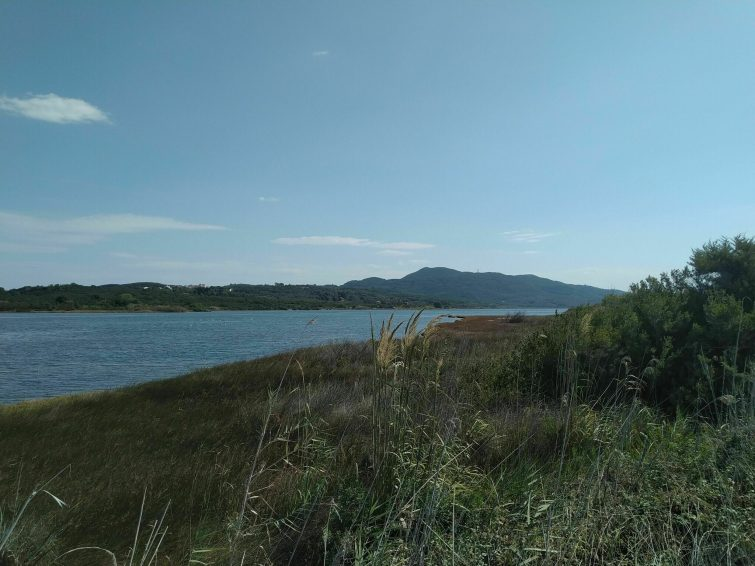 Le Lac Korission randonnees corfou