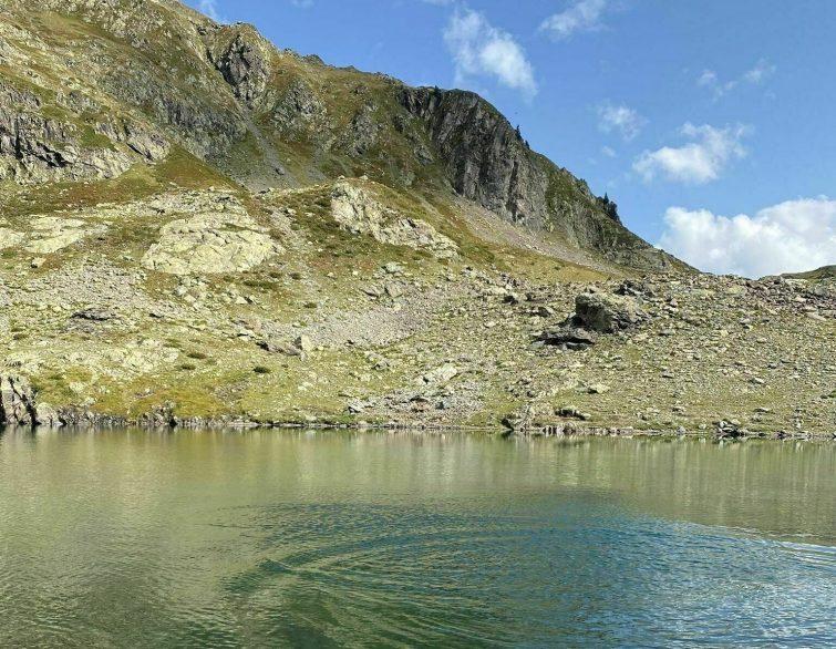 Le Lac de Belledonne randonnees