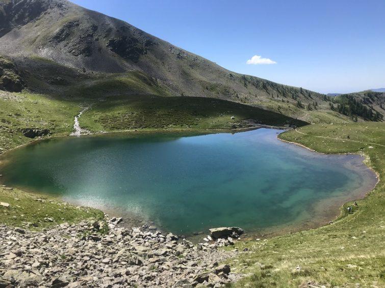 Le Lac des Millefonts et le Mont Pépoiri