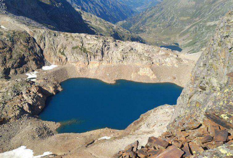 Le lac de Caillauas