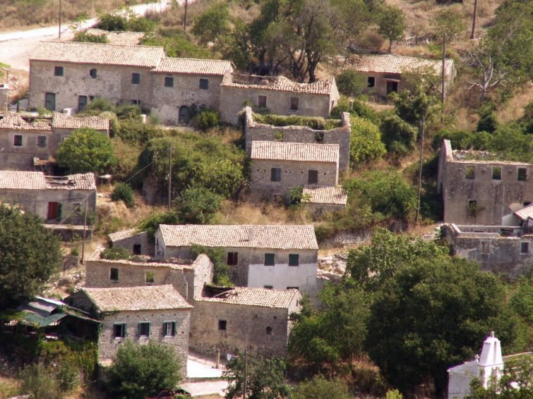 Agios Martinos - Palia Perithia - Lafki