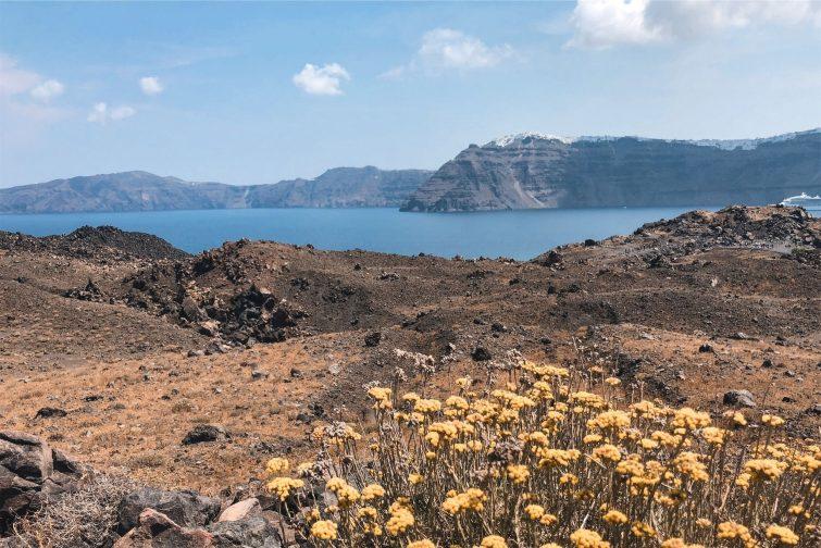 Le volcan de Nea Kameni