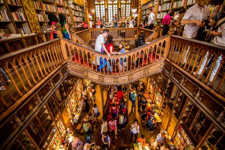 Librairie Lello - visiter Porto
