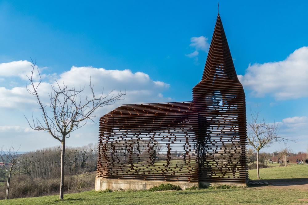 L'église invisible de Looz - visiter Belgique