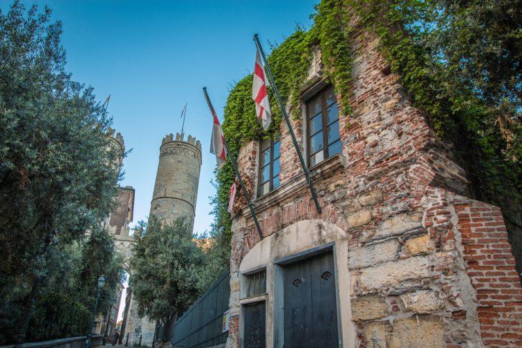 Maison de Christophe Colomb - visiter Gênes