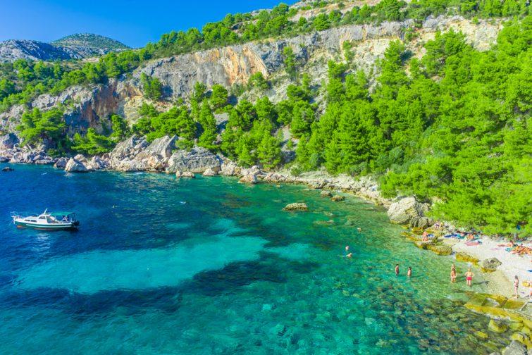 Les autres plages de Hvar - visiter Hvar