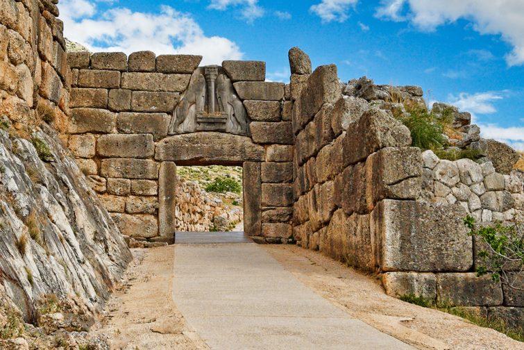 Le site archéologique de Mycènes