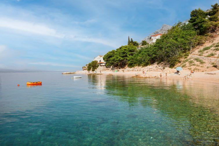 La plage d'Omis