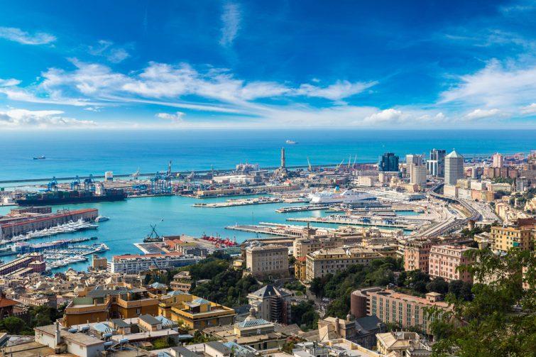 Ports moderne et antique - visiter Gênes