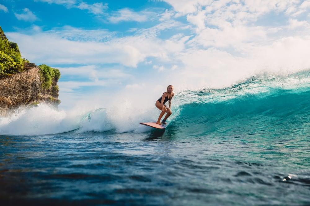 Le surf - sports nautiques