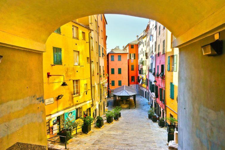 Via Garibaldi - visiter Gênes