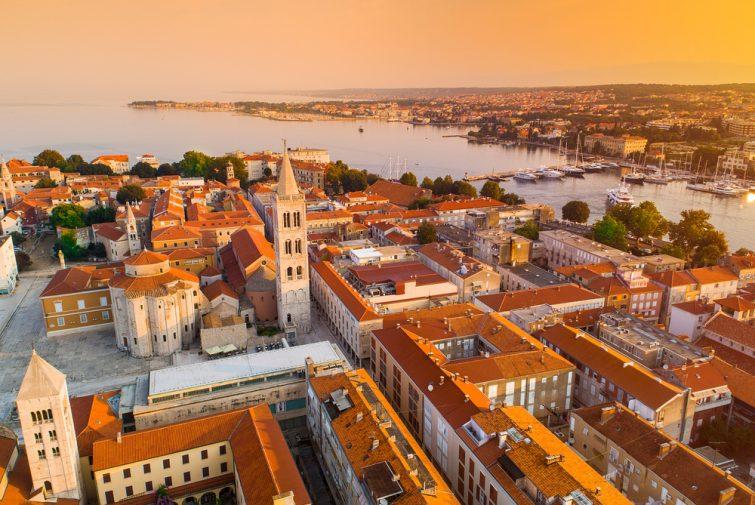 Découvrir le centre historique - visiter Zadar