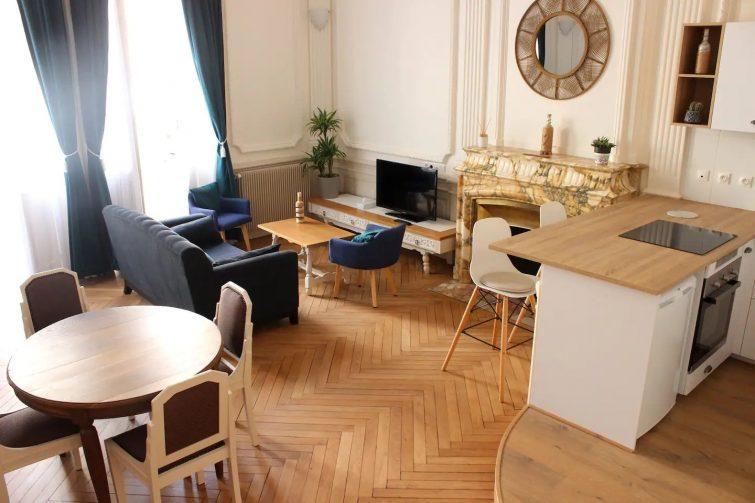 Sublime appartement, chic et confortable.