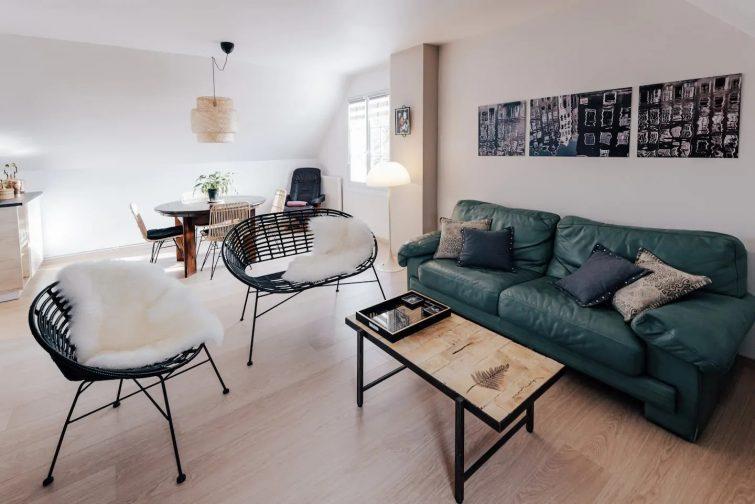 Appartement privatif dans maison de campagne