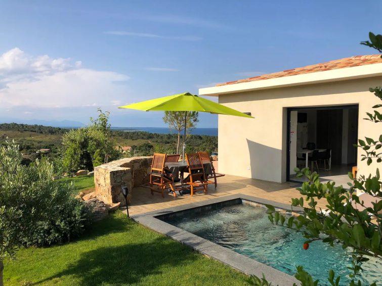 Villa MACHJA piscine vue mer/Bavella à 2mn Port