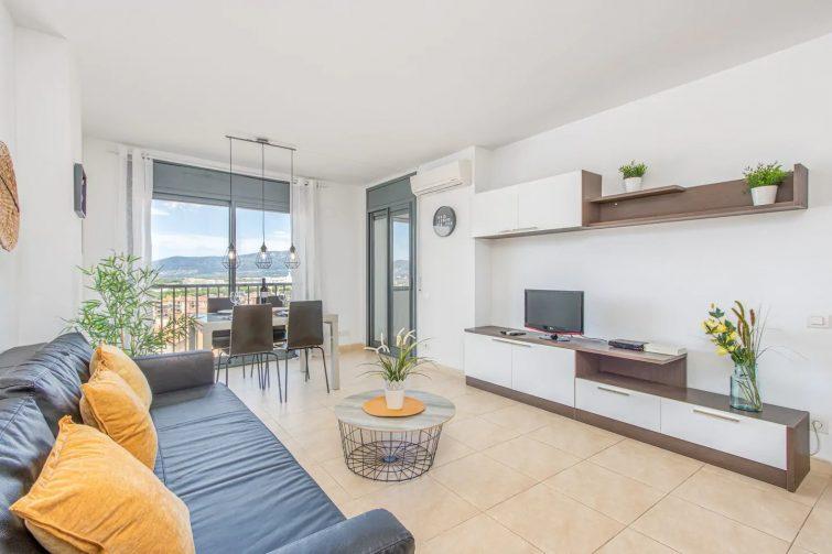 Airbnb à Empuribrava 133-Empuriabrava-Très bel Appartement vue mer piscine